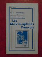 LES MAXIMAPHILES FRANÇAIS : REVUE MENSUELLE N°322 (1978) / ASSOCIATION DES COLLECTIONNEURS DE CARTES MAXIMUM (FRANCAIS) - Filatelie En Postgeschiedenis
