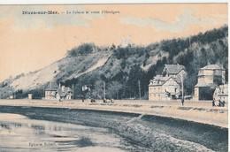 CPA Dives-sur-mer La Falaise & La Route D'Houlgate - France