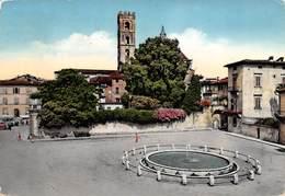 Cartolina Lucca Piazza San Martino Fontana 1957 - Lucca