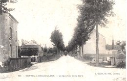 58 CORVOL L'ORGUEILLEUX - Le Quartier De La Gare - Otros Municipios