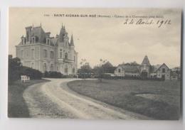 SAINT AIGNAN SUR ROË (53 - Mayenne) - 1912 - Le Château De La Chevronnais - Coté Nord (et Sa Ferme) - Saint Aignan Sur Rö
