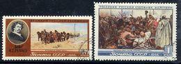 SOVIET UNION 1956 Repin Death Anniversary, Used.  Michel 1865-66 - 1923-1991 USSR