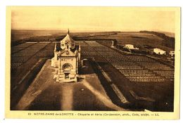 CPA 62 Pas De Calais Notre-Dame-de-Lorette Chapelle Et Abris - Autres Communes