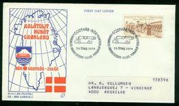 FD Grönland FDC 1978 - MiNr 110 - 250 Jahre Godthåb (Nuuk) - FDC