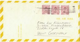 N110     South Korea - Nice Advertising Cover To Germany 1976 Hotel President Seoul - Korea, South