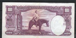 7 URUGUAY -Emitidos Desde 1939 A 1966- Bill. Nº 40-Bco. República O.del Uruguay-1 Bill. De 1000 - Uruguay