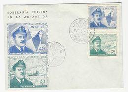 Maximum Cover * Commemorative * Chile * 1967 * 50º Del Resgate De Shackleton Por El Piloto Pardo 1916-1966 - Chili