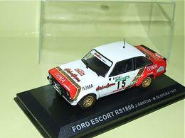 FORD ESCORT RS 1800 #15 RALLYE PORTUGAL 1983 SANTOS OLIVEIRA IXO ALTAYA 1/43 - Rallye
