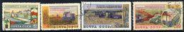 SOVIET UNION 1954 Agriculture II, Used.  Michel 1741-44 - 1923-1991 USSR
