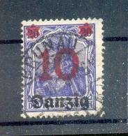 Danzig 17 STEMPEL BRUNAU Gest. (R9378 - Danzig
