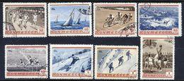 SOVIET UNION 1954 Sports, Used.  Michel 1710-17 - 1923-1991 USSR