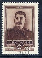 SOVIET UNION 1954 Stalin Death Anniversary, Used.  Michel 1701 - 1923-1991 USSR