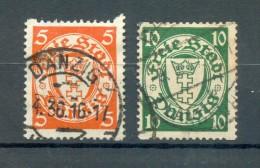 Danzig 193/94Dy SATZ Gest. (73569 - Dantzig