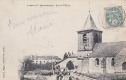 F15 - 52 - Pressigny - Haute-Marne - Rue De L'Eglise - Autres Communes