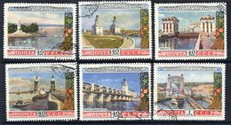 SOVIET UNION 1953 Volga-Don Canal, Used.  Michel 1669-74 - Used Stamps