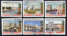 SOVIET UNION 1953 Volga-Don Canal, Used.  Michel 1669-74 - 1923-1991 USSR
