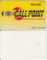PAKISTAN - Call Point Telecard 505 Units, Tirage 50000, 03/98, Used - Pakistan