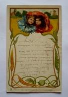 Carte Fantaisie  - RAPHAËL TUCK - Jolies Fillettes - Moulin à Vent - 1903 - Tuck, Raphael