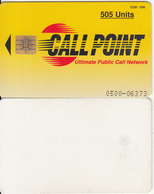 PAKISTAN - Call Point Telecard 505 Units, Tirage 10000, 10/96, Used - Pakistan