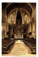 CPA 85 Vendée Fontenay-le-Comte Intérieur De L'Eglise Notre-Dame - Fontenay Le Comte