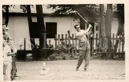 Postcard / ROYALTY / Belgique / Roi Baudouin / Koning Boudewijn / Au Tournoi De Golf à Ramstein / 1959 - Golf
