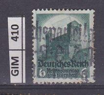 GERMANIA IMPERO, 1934Congresso Norimberga, 6 Pf, Usato - Oblitérés
