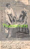 CPA JEU DE CARTES FEMME VOYANTE GITANE GIPSY LADY FORTUNE TELLER TELLING PLAYING CARDS - Cartes à Jouer