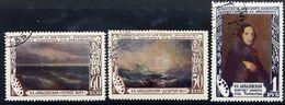 SOVIET UNION 1950 Aivasovsky Death Anniversary, Used.  Michel 1522-24 - Used Stamps