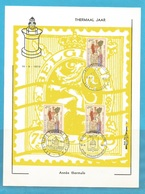 """FDS - FDC -   """"thermaal Jaar"""" , 3 AFSTEMPELINGEN .1973 ,,,,, Super Sale !!!....    7 - FDC"""