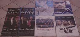 LOT 5 AFFICHES CINEMA ORIGINALES FILMS Gérard LANVIN FILS PREFERE SAXO MON HOMME TIR GROUPE LES MARMOTTES TBE - Posters