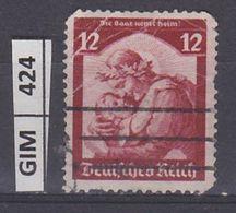 GERMANIA IMPERO, 1935Ritorno Della Saar Nella Germania,  12 Pf, Usato - Oblitérés