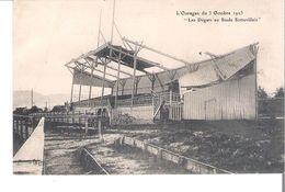 CP  D 76  SOTTEVILLE   L'Ouragan Du 3 Octobre 1923  Les Degats Au Stade - Sotteville Les Rouen