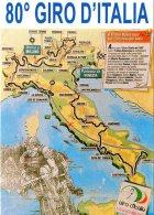 [DC0163] CPM - CARTOLINEA - CICLISMO - SPORT - 80° GIRO D'ITALIA  VINTO DALL'ITALIANO IVAN GOTTI - Non Viaggiata - Cycling