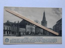 JODOIGNE «La Place Communale «animée Commerce AU BON MARCHÉ S.A Delhaize & Cie (Édit DESAIX ). - Jodoigne
