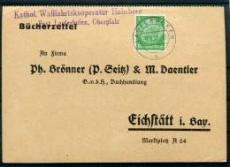 DR-3.Reich 516 Selt. EF Auf Bücherzettel (Z9699 - Germania