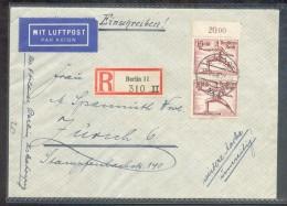 DR-3.Reich BLOCK 4+ 614 SELTEN Auf BRIEF!! (42312 - Briefe U. Dokumente