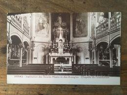62 - CPA ARRAS - Institution Des Sourds Muets Et Des Aveugles - Chapelle De L'Institution - Arras