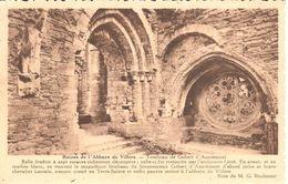 Villers-la-Ville - CPA - Ruine De L'abbaye De Villers - Tombeau De Gobert D'Aspremont - Villers-la-Ville