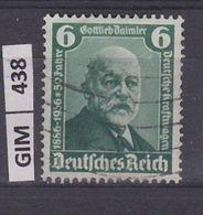 GERMANIA IMPERO, 1936Daimler, 6 Pf, Usato - Oblitérés
