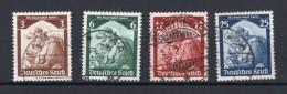 DR-3.Reich 565/68 SATZ Gest. 14EUR (74953 - Gebraucht