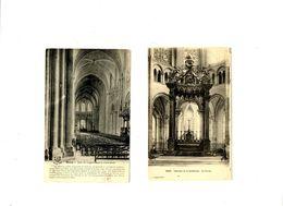 CPA 89 Yonne Sens La Cathédrale Lot E 2 Cartes - Sens