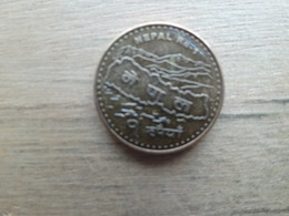 Nepal  1  Rupees 2009 ( 2066)  Km !!! - Nepal