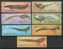 Laos. 1986. Aves. Birds. Oiseaux. - Peacocks