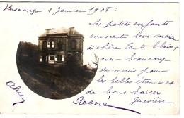 54 MEURTHE Et MOSELLE Carte Photo Maison Bourgeoise D'HERSERANGE - Autres Communes