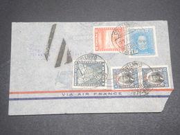 CHILI - Enveloppe De Santiago Pour La France En 1935 , Affranchissement Plaisant - L 12045 - Chile