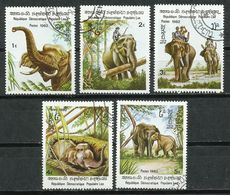 Laos. 1982. Elefantes. Elephats. - Elefantes
