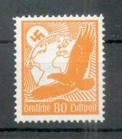 DR-3.Reich LILIENTHAL 536y WAAGERECHTE RIFFELUNG**POSTFRISCH 75EUR (N0028 - Nuovi
