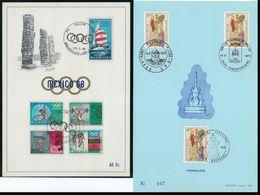 Mooi Lot HERDENKINGSKAARTEN , MAXIMUMKAARTEN , FDC Enz.. Tussen 1965 En 1975 ; Zie Alle Scans ! LOT 150 - Collections