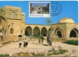 29837 Cyprus, Maximum 1989 The Monastery Of  Ayia Napa, Cyprus, Kloster Monastere - Klöster