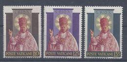 VATICAN - 1954 - N° 200/202 - Neufs - X - Traces Légères - TB - - Vaticaanstad